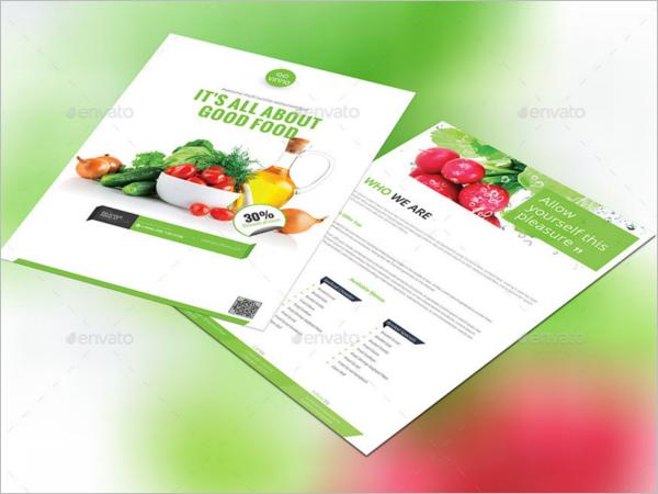 Front & Back Restaurant Flyer Design