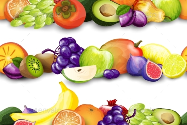 Fruits Border Design