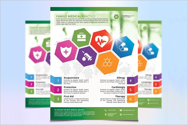Fully Editable Medical Flyer Design