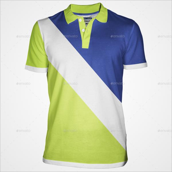 Fully Editable Polo t-shirt Mockup