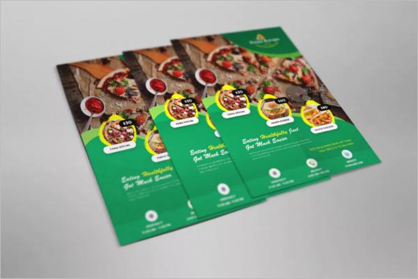 Fully Editable Restaurant Flyer Template