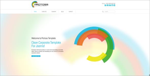 Fully Responsive Joomla Design Template