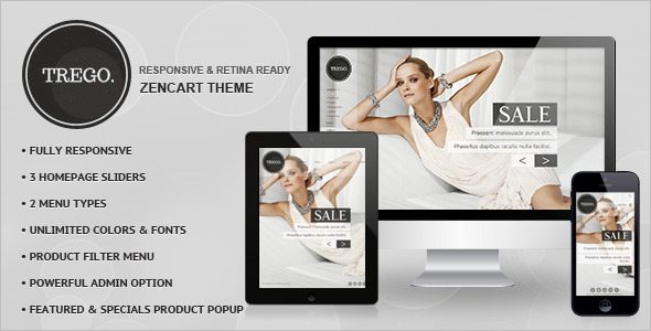 Fully Responsive Zen Cart Theme