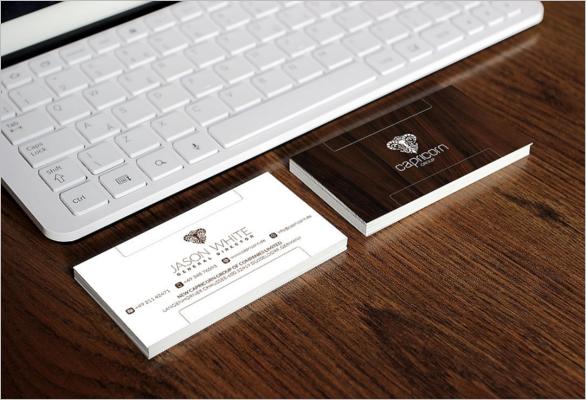 Furniture Business Card Design Template