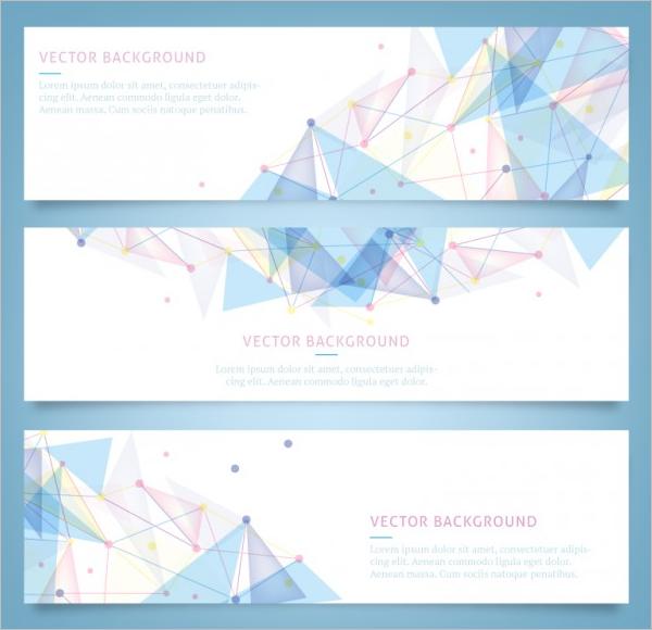 Geometrical Design Banner