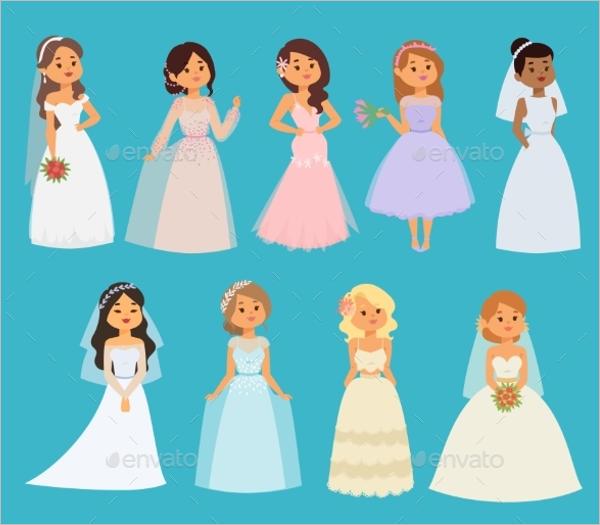 Girl Character Dress Design