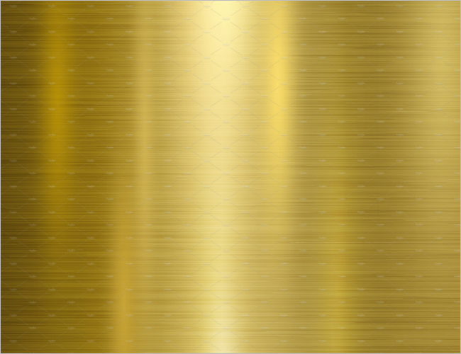 Gold Metal Wall Texture Design