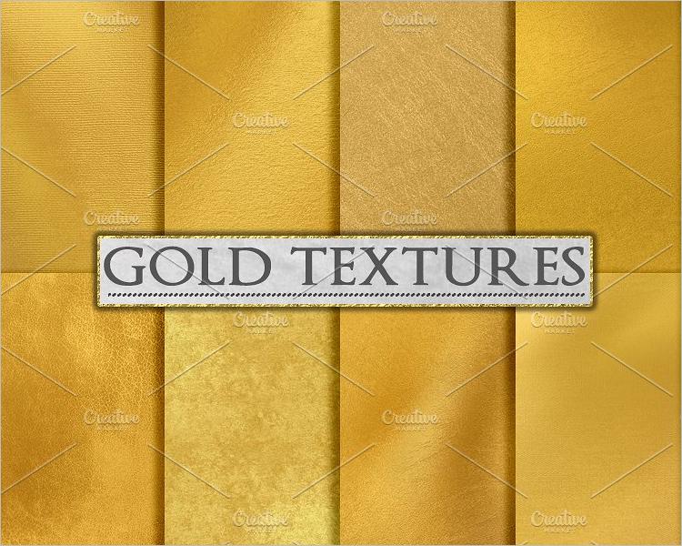 Gold Paper Texture Background Design