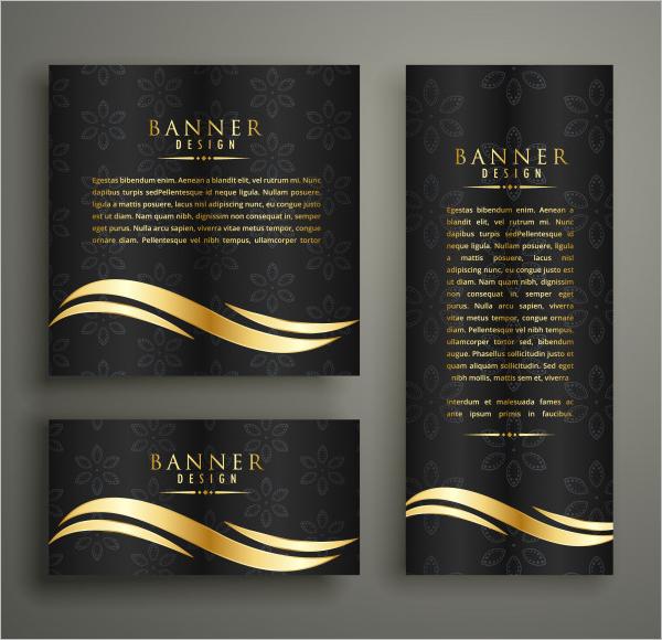 GoldenBanner Design