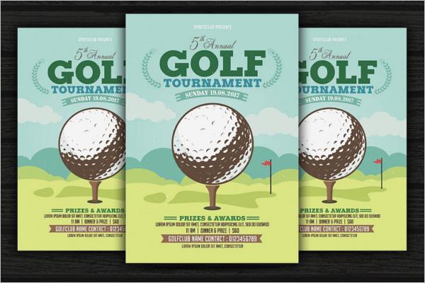 GolfTournament Flyer Template