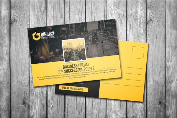 Graphic Visiting Card Design