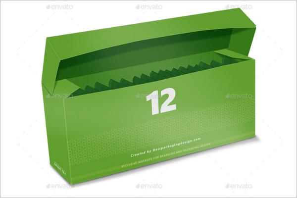 Green Tea Packaging Mockup