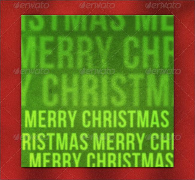 Grunge Christmas Texture Design