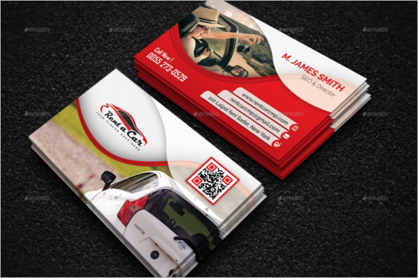 Gym Trainer Business Card Design