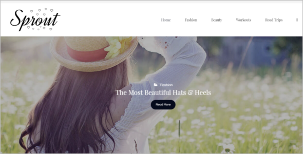 HTML Blog Template
