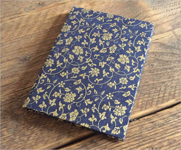 Handmade Address Book Design