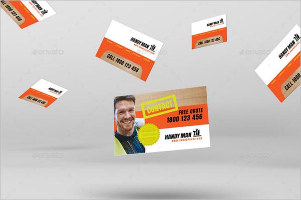 Handyman Business Card Template