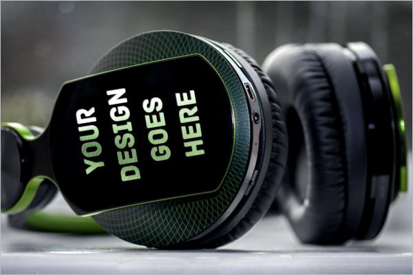 Headphone Mockup PSD Download