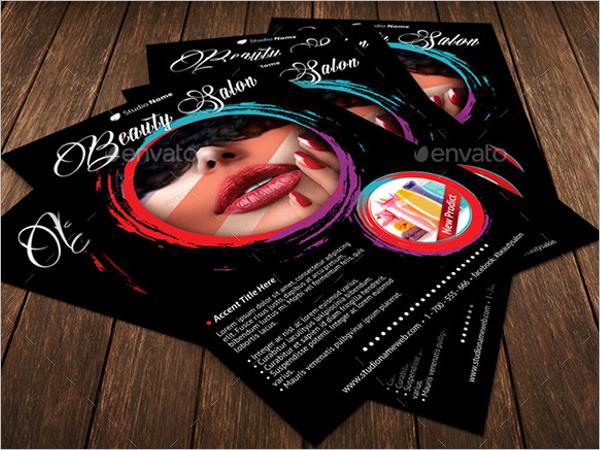 High Quality Beauty Salon Flyer Template