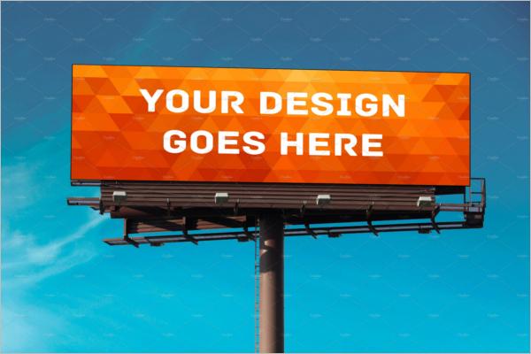 High Quality Billboard Mockup Design