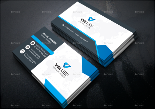High Quality Corporate Business Card Template