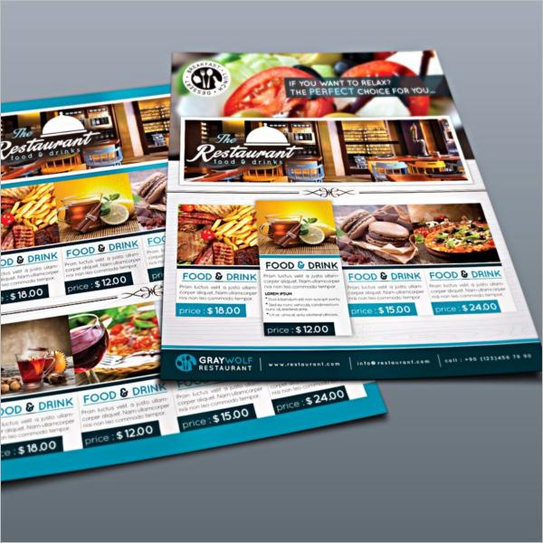 High Quality Restaurant Flyer Design