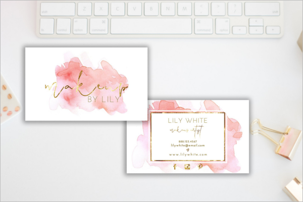 High Resolution Business Card Template