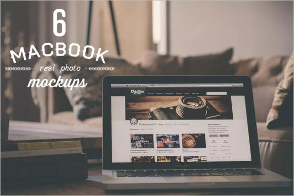 High Resolution Macbook Design