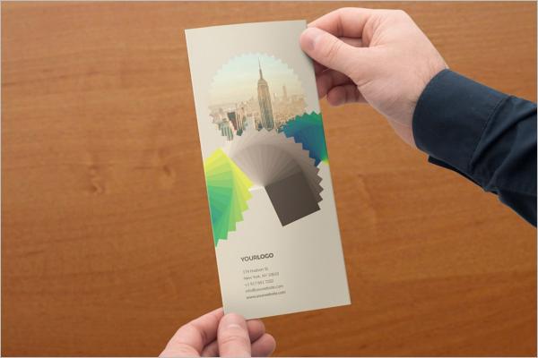 High Resolution Retro Brochure Template