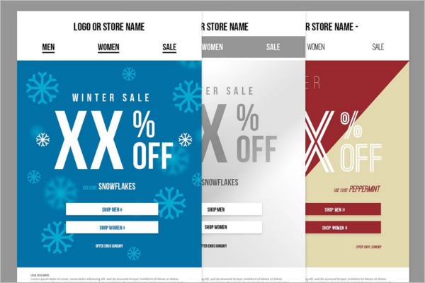 Holiday Email Design Template