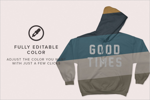 Hooded Sweat Shirts Mockup Template