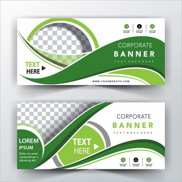 Horizontal Banner Design Download