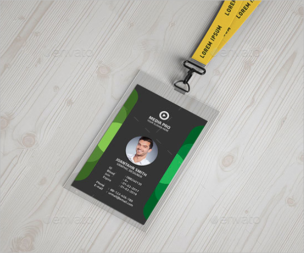 ID Card Graphical Design