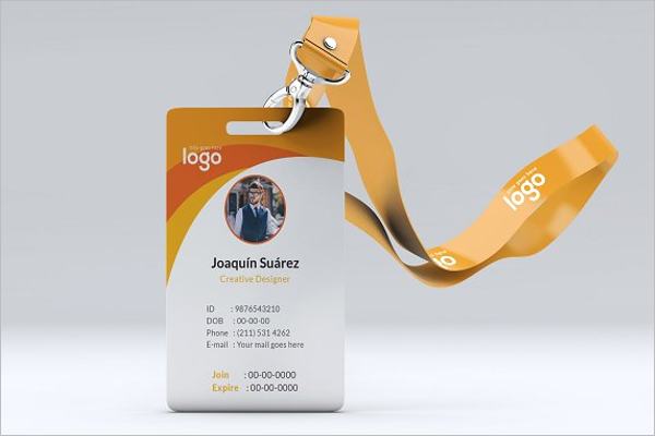 ID Card Printer Template