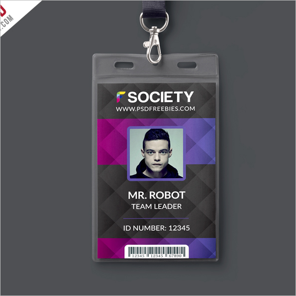 ID Card Size Template