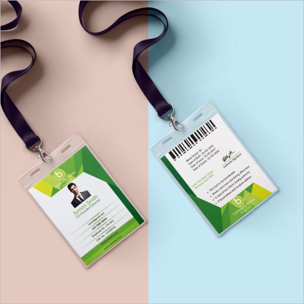 ID Card Template PDF