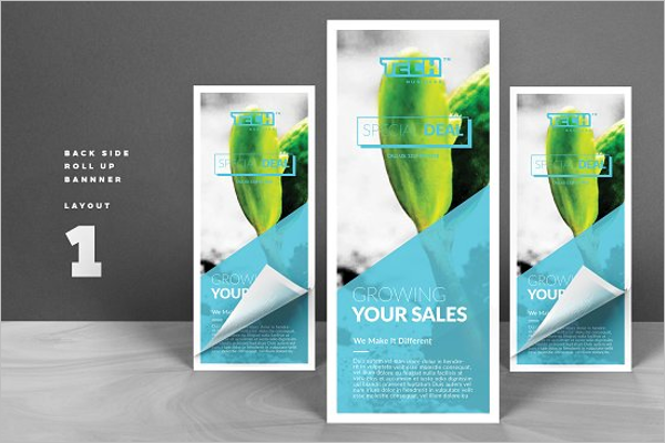 InDesign Banner Template