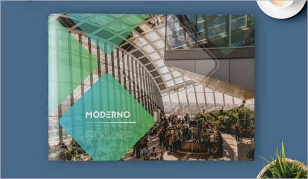 InDesign Landscape Brochure Template