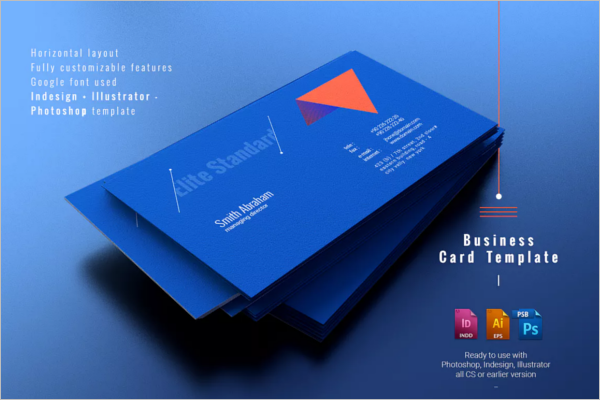 InDesign Photoshop Business Card Design