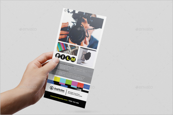 InDesign Rack Card Template