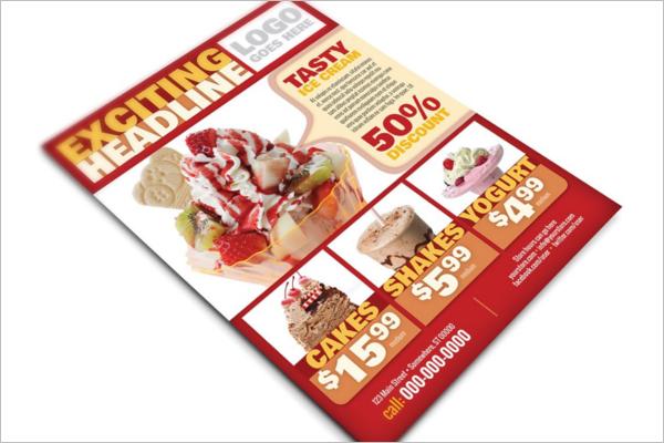 InDesign Restaurant Flyer Template