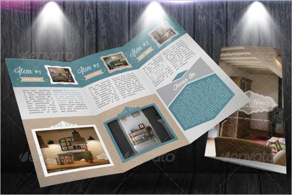 InDesign Retro Brochure Template