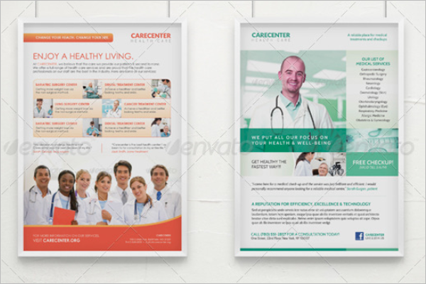 InDesign Medical Poster Template