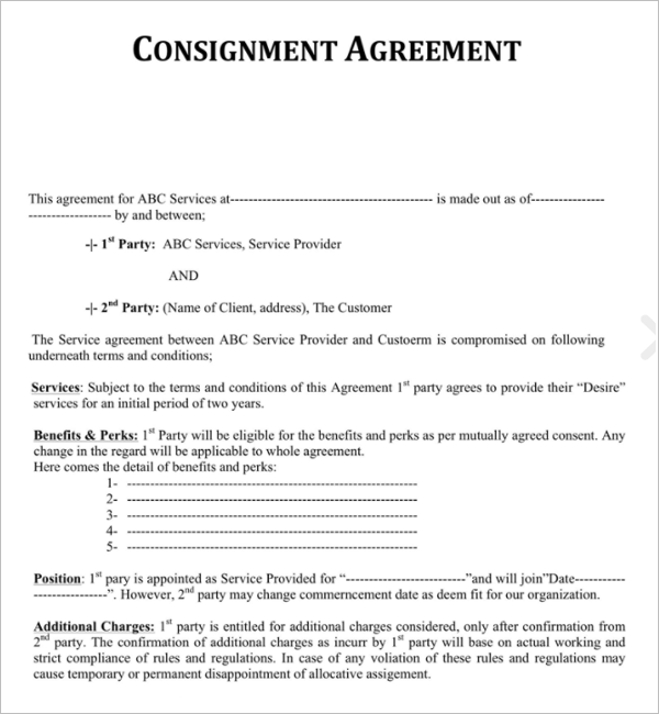 Installment Agreement Form Template