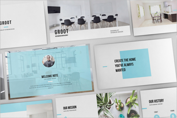 Interior Design Keynote Template