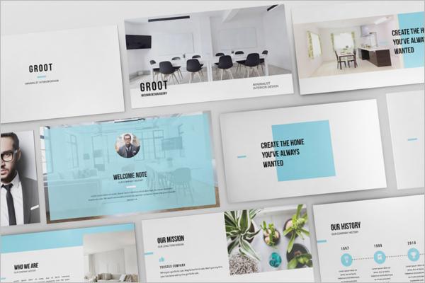 Interior Design Keynote Template