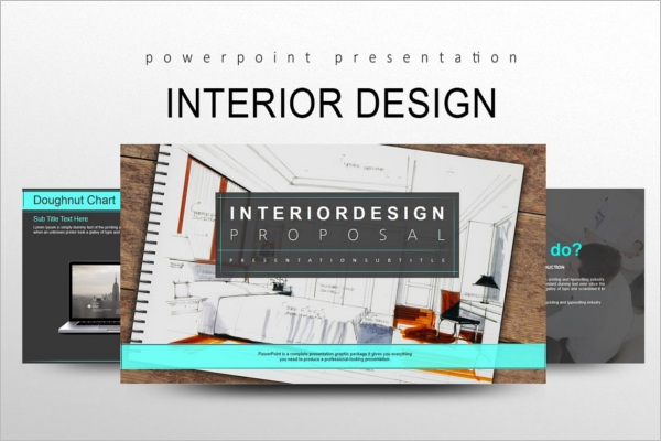Interior Design PPT Template