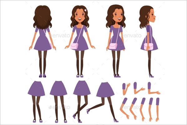 Isolated Dress Design Template