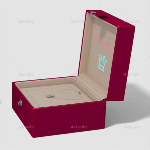 Jewelry Box Logo Mockup
