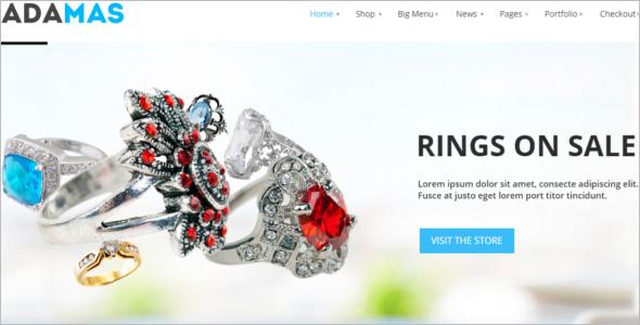 Jewelry Woocommerce Theme